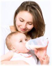 Козье молоко полезно для вскармливания младенцев