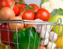 Овощи из супермаркета